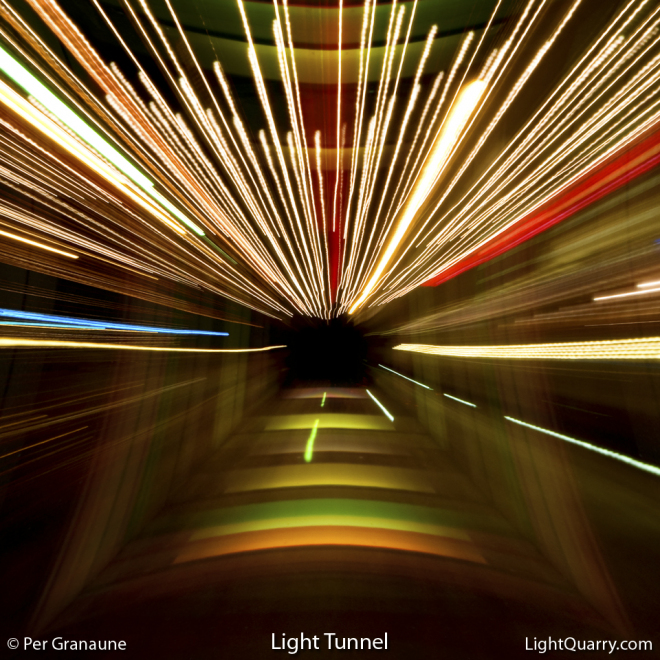 Light Tunnel by Per Granaune