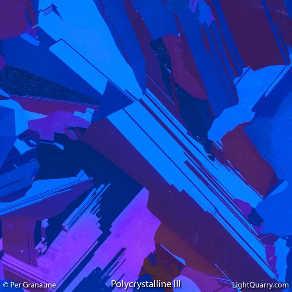 Polycrystalline [003] III by Per Granaune