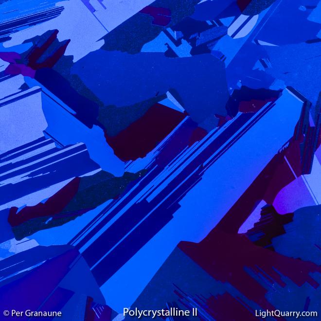 Polycrystalline [002] II by Per Granaune