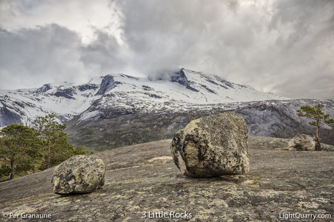 3 Little Rocks [001] by Per Granaune