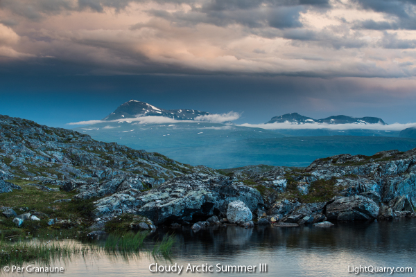 Cloudy Arctic Summer [003] III by Per Granaune