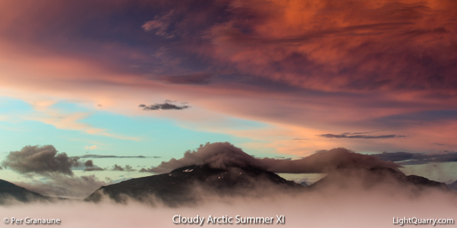 Cloudy Arctic Summer [011] XI by Per Granaune