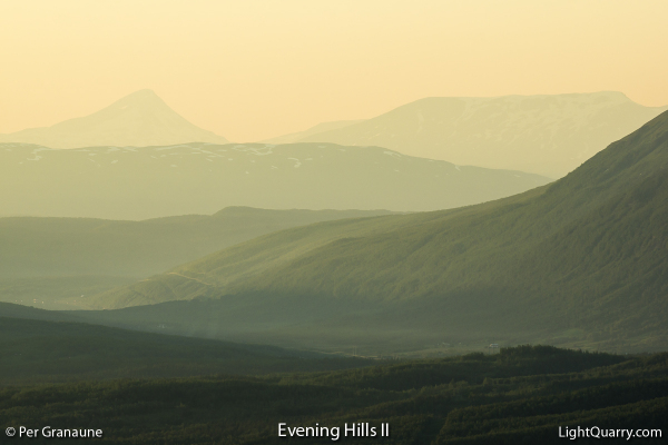 Evening Hills [002] II by Per Granaune