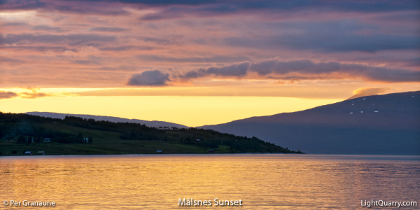 Målsnes Sunset [001] by Per Granaune