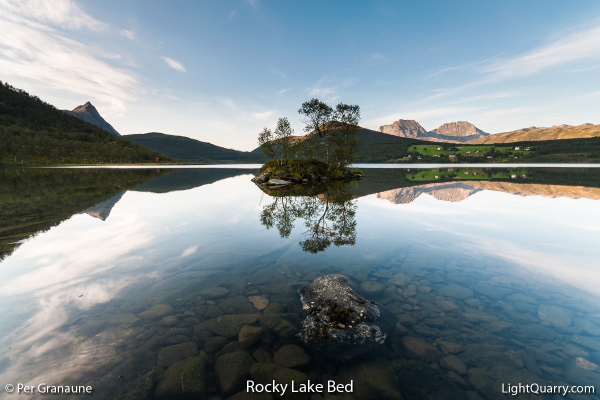 Rocky Lake Bed by Per Granaune