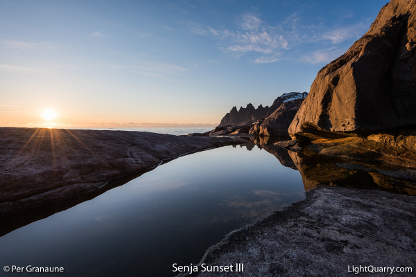 Senja Sunset [003] III by Per Granaune