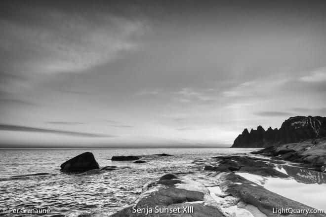 Senja Sunset [013] XIII by Per Granaune