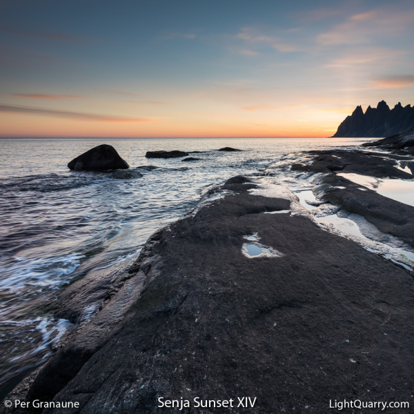 Senja Sunset [014] XIV by Per Granaune