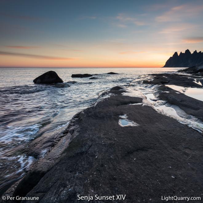 Senja Sunset [014] XIV by Per Granaune