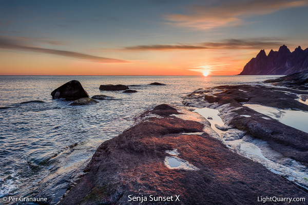 Senja Sunset [010] X by Per Granaune