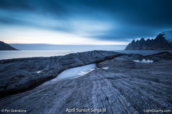 April Sunset Senja [003] III by Per Granaune