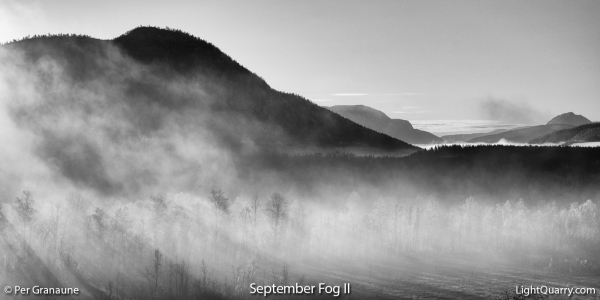 September Fog [002] II by Per Granaune