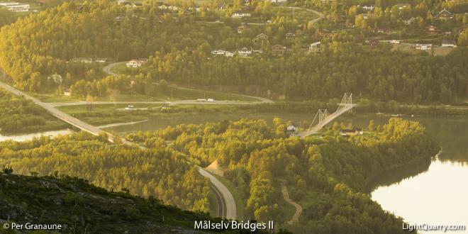 Maalselv Bridges [002] II by Per Granaune