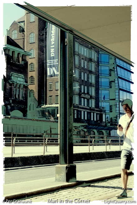 Man in the Corner by Per Granaune
