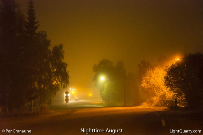 Nighttime August by Per Granaune