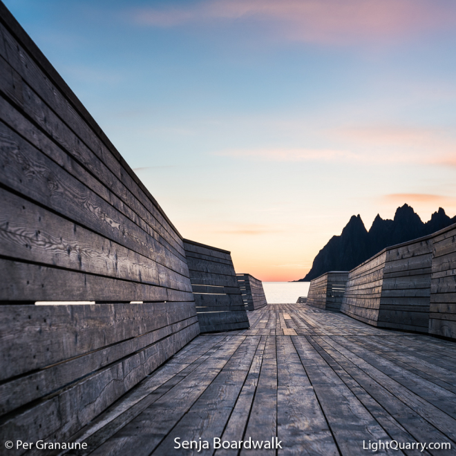 Senja Boardwalk by Per Granaune