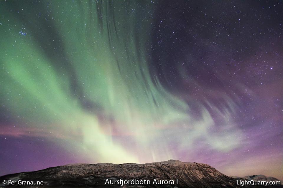 Aursfjordbotn Aurora I by Per Granaune