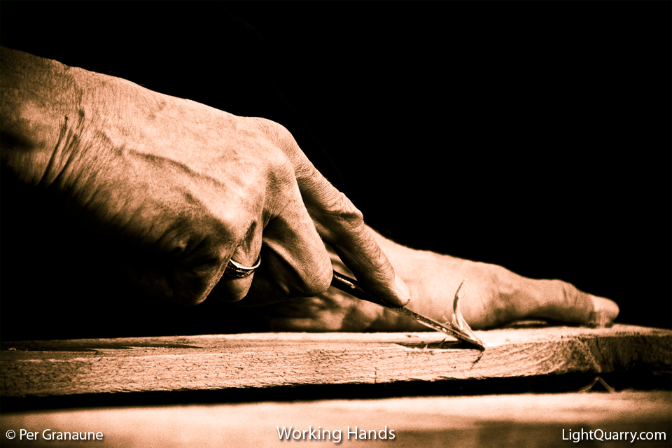 Working Hands by Per Granaune